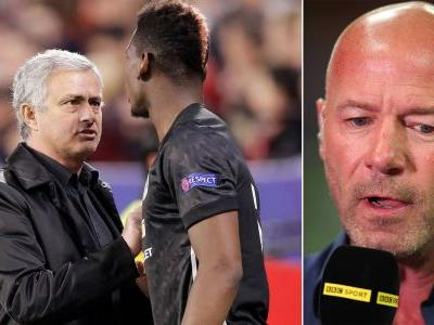 Shearer predicts how Mourinho's 'row' with Pogba will end