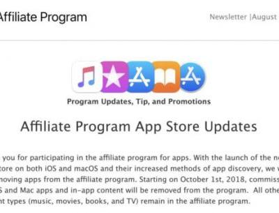 Apple kills app affiliate commissions, imperiling small publishers