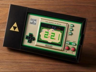 A new Game & Watch system will feature games from The Legend of Zelda franchise