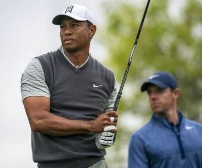 Tiger Woods beats Rory McIlroy in first head-to-head match play showdown