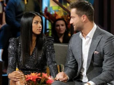 Chris & Katie's Body Language On The 'Bachelor In Paradise Finale' Is Concerning