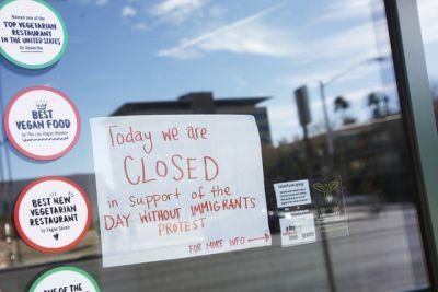Las Vegas businesses, residents participate in 'Day Without Immigrants' protests