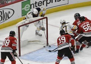 Blackhawks rally for 5-4 shootout win over Sabres