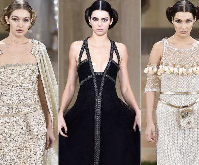 Kendall, Gigi and Bella are cribbing Princess Leia's style