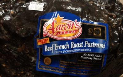Beef pastrami recalled after company discovers curing problem