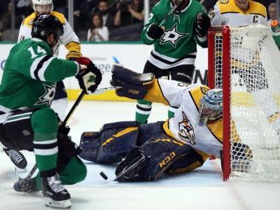 NHL Playoffs 2019: Predators' Pekka Rinne prevents Stars from series lead with multiple point-blank saves