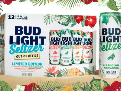 """Bud Light Seltzer's 2021 """"Out Of Office"""" Flavors Will Transport You To A Tropical Vacay"""