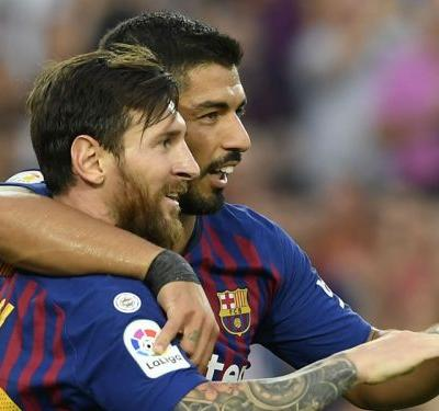 The Best snub will not affect Messi, claims Suarez