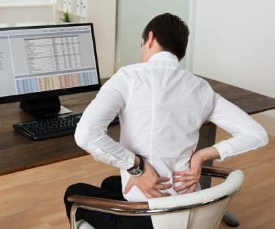 1 in 4 American Workers Struggles With Back Pain