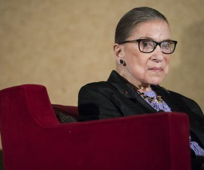 Ruth Bader Ginsburg released from hospital after breaking ribs
