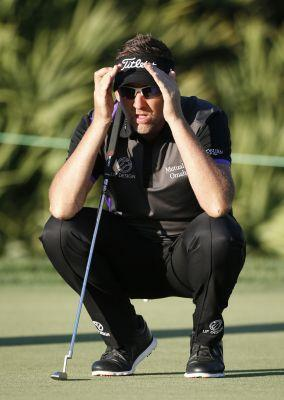 Poulter facing pressure of a different variety