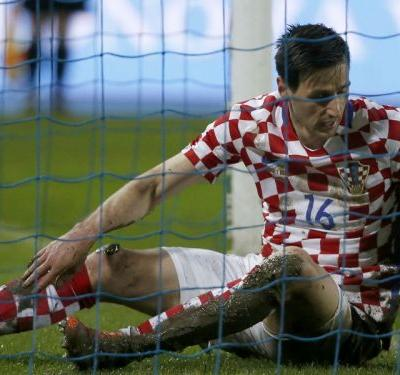 World Cup over for Kalinic as Croatia star sent home