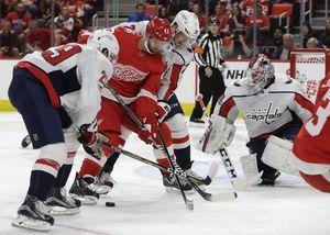 Ovechkin wins it for Caps in OT, 4-3 over Red Wings