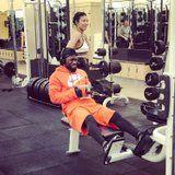 Kevin Hart Showing Off in the Gym is the Hilarious Struggle All Fitness Couples Can Relate to