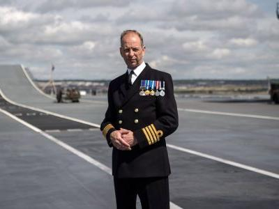 It's an 'absolute inevitability' that military drones will fly from HMS Queen Elizabeth, according to its commanding officer