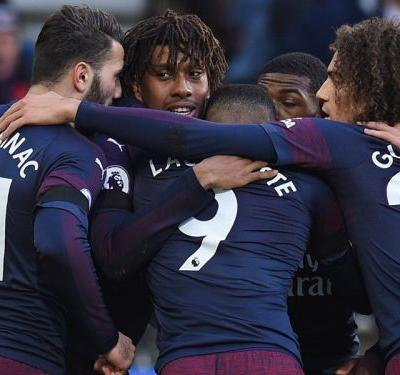Road relief for Mkhitaryan & Lacazette as Arsenal cure travel sickness