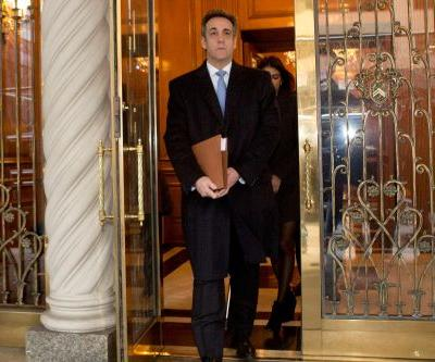 Michael Cohen arrives in court for sentencing