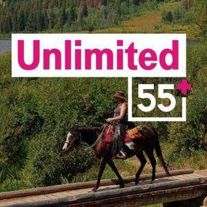 T-Mobile One Unlimited 55+ customers can now get three lines of service for $90