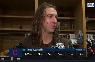 Mike Clevinger felt a bit erratic, but good overall in return to mound