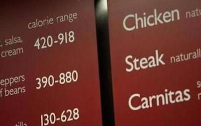 FDA commissioner issues new guidance for menu labeling