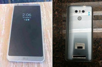 LG G6 leak shows curved corners, always-on display