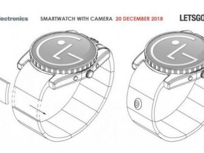 LG's new patent points toward a smartwatch with a camera