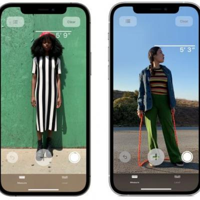 IPhone 12 Pro Allows You to Measure Someone's Height Instantly Using LiDAR Scanner