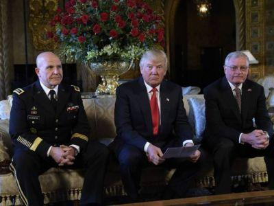 Trump taps military strategist and Lt. General H.R. McMaster as new national security adviser