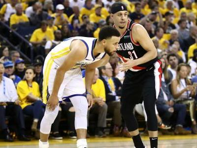Trail Blazers' Seth Curry: Warriors 'harder to guard' without Kevin Durant