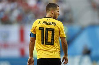 Eden Hazard finishes Kevin De Bruyne's nice assist to give Belgium a 2-0 win over England