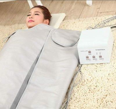 I bought an infrared sauna blanket for $400 on Amazon, and I've never been more energized and less bloated in my life