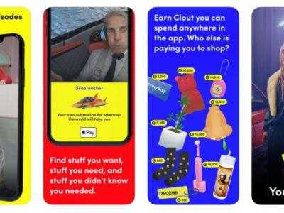 Down To Shop is a tongue-in-cheek mobile shopping network