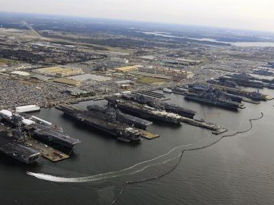 30 ships ordered to flee US Navy's biggest base in Virginia as Hurricane Florence closes in