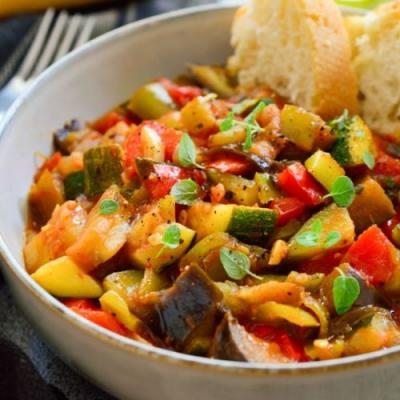 Pisto Spanish Vegetarian Stew