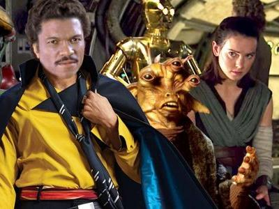 Leaked Star Wars 9 Art Shows Old Lando, New Characters & Kylo's Mask?