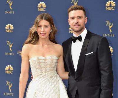 Justin Timberlake Gushes Over Jessica Biel On Emmys Red Carpet: 'I'm Just So Proud'
