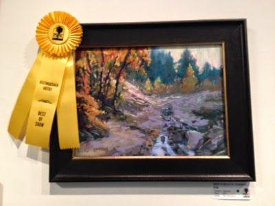 Best of Show Award for the Pastel Society of Southern California