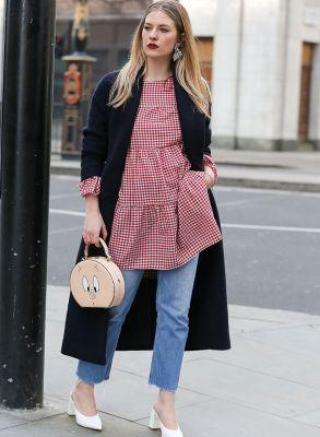 The Best Denim Street Styles From LFW