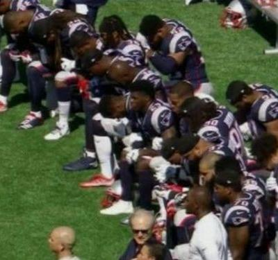 Here are the NFL players and teams that protested during Sunday's anthems in response to Trump
