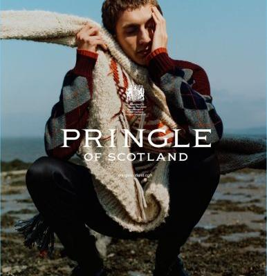 Henry Kitcher Travels to Scotland for Pringle of Scotland Fall '18 Campaign