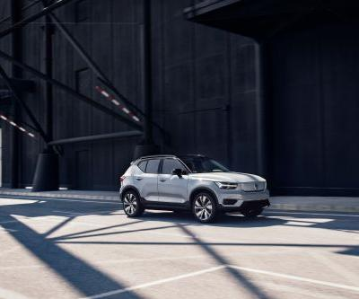 Volvo unveils its first electric car, the XC40 Recharge