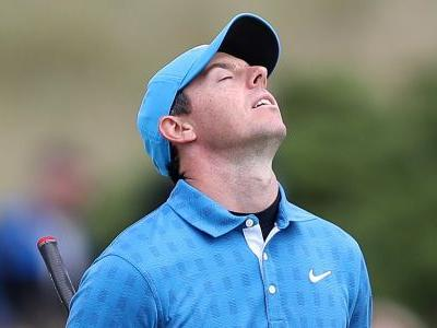 Rory McIlroy had 2 disastrous holes through his nightmarish first round at the Open Championship that took him from tournament favorite to struggling to make the cut