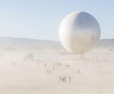 Bjarke Ingels' Burning Man ORB Captured through the Lens of Laurian Ghinitoiu