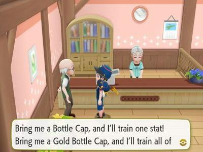 What To Do With Bottle Caps In Pokemon Let's Go Eevee & Pikachu