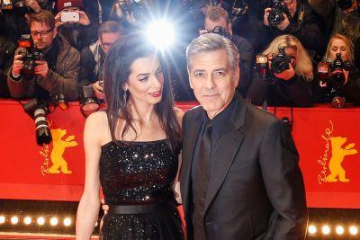 The glamour of George and Amal Clooney
