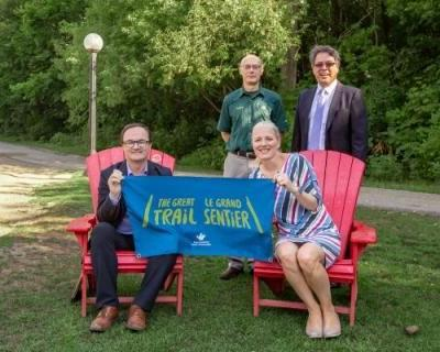 Federal government announces $30 million in funding for The Great Trail