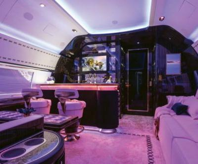 Flying Home: A Jet Interior by Winch Design