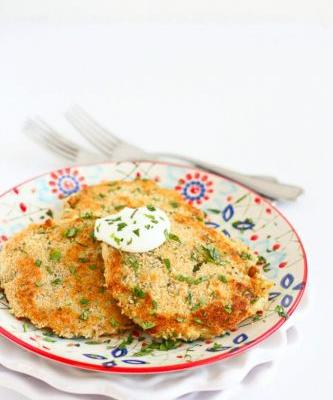 Cheesy Chile Leftover Mashed Potato Patties