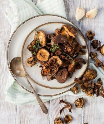 Air Fryer Wild Mushrooms