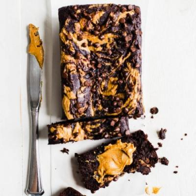 PB Chocolate Banana Bread
